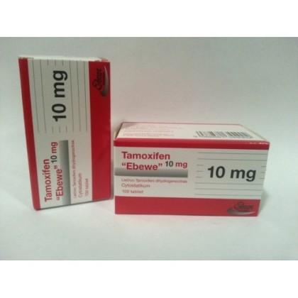 Citrato de Tamoxifeno Ebewe 10 mg (100 com)