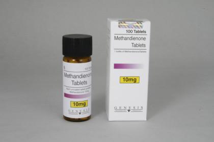 Metandienona comprimidos 10mg (com)