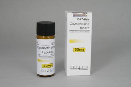 Oximetolona comprimidos 50mg (100 com)